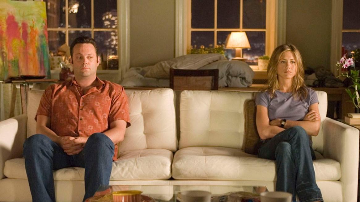 """Jennifer Aniston y Vince Vaughn se enamoraron en el rodaje de """"Viviendo con mi ex"""""""