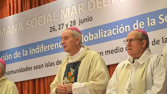 Monseñor Jorge Lugones, de la Pastoral Social