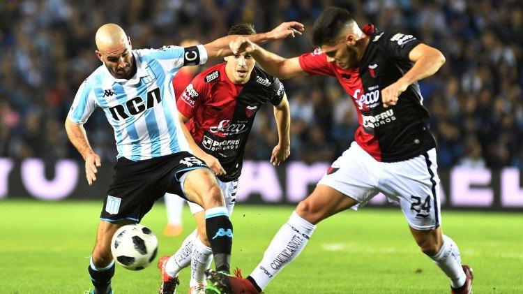 Lisandro López fue reemplazado por lesión en el primer tiempo (Foto: Télam)