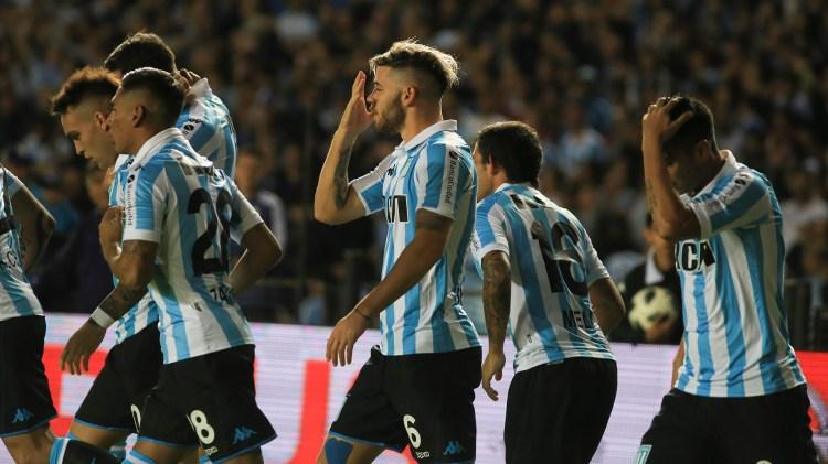 Racing perdió ante Colónpor la 27ma y última fecha de la Superliga y se quedó sin Copa Libertadores 2019 (Foto: NA)