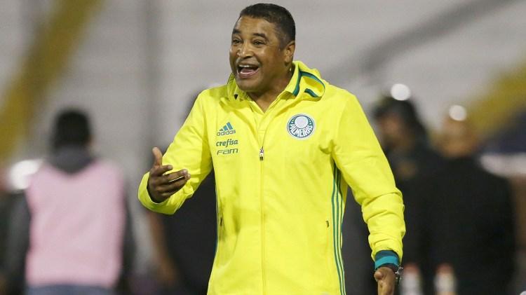 Roger Machado, el cuestionado entrenador del Palmeiras (Reuters)