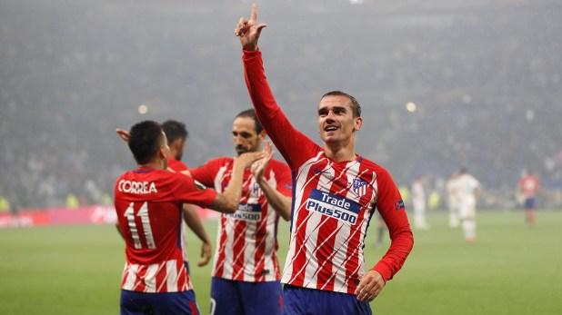 Griezmann fue una de las figuras del Atlético en la final de la Europa League ante Marsella (Reuters)