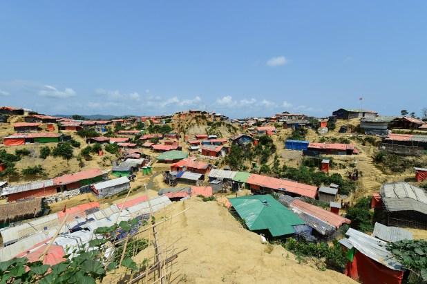 El campo de refugiados Kutupalong, en el distrito Ukhia (Bangladesh)