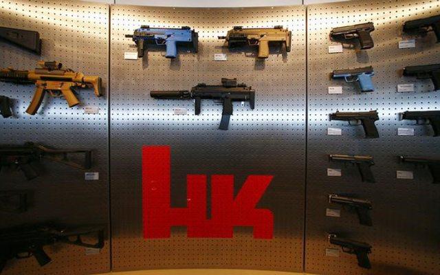 Son 6 ex empleado de la empresa de armas H&K acusados por la Fiscalía de Stuttgart.