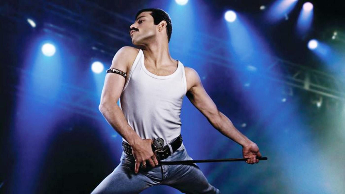 El actor Rami Malek en la piel de Freddie Mercury