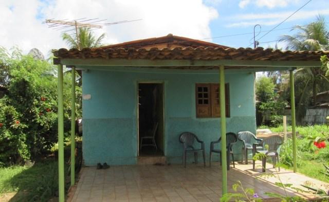La casa donde ocurrió el parto (foto: cortesía Globo)