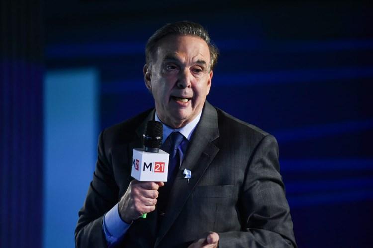 El senador nacional Miguel Pichetto (Manuel Cortina)