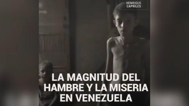 Capriles publicó un video con un mensaje a todos los países del mundo