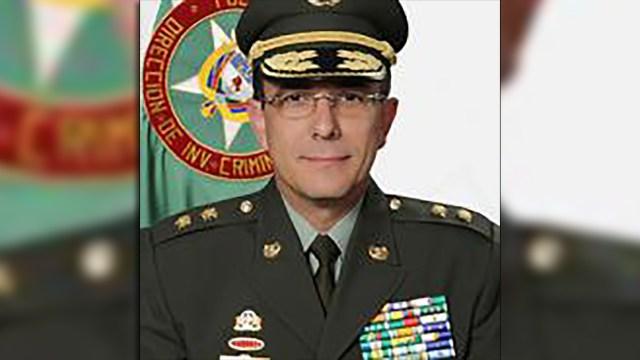 Brigadier General Jorge Luis Vargas Valencia, director de Investigación Criminal e Interpol -Dijin-.