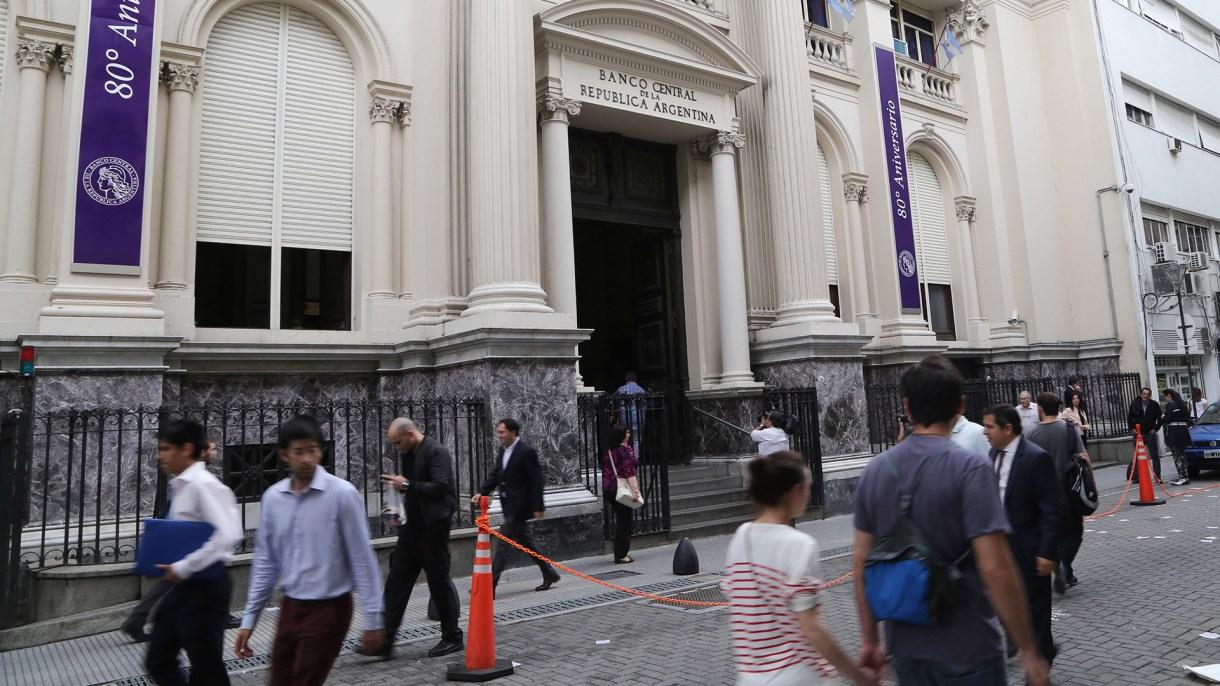La sede del Banco Central, en el centro porteño (NA)