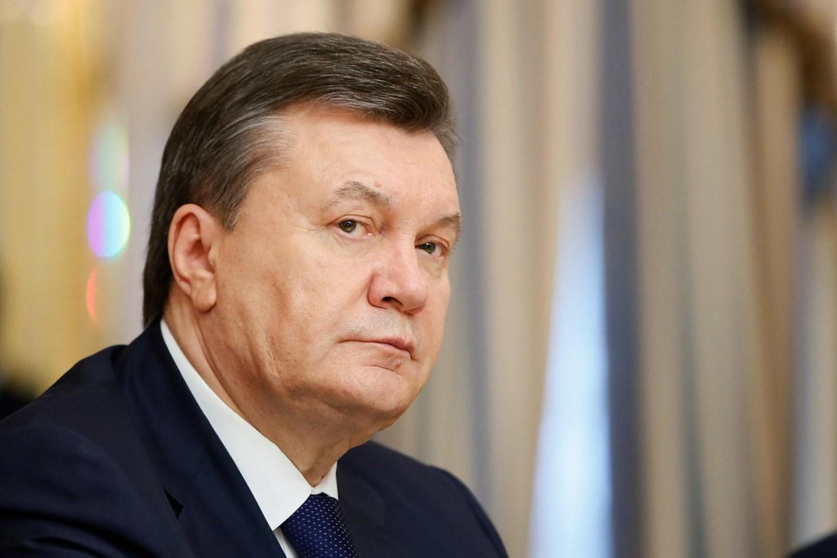 Víktor Yanukóvich, ex presidente de Ucrania