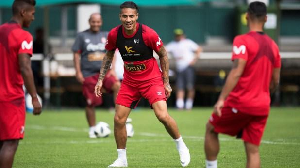 (EFE) Guerrero podría jugar el próximo domingo con la camiseta de Perú