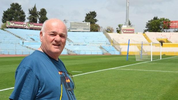 Asher Goldberg, referente del fútbol de Israel