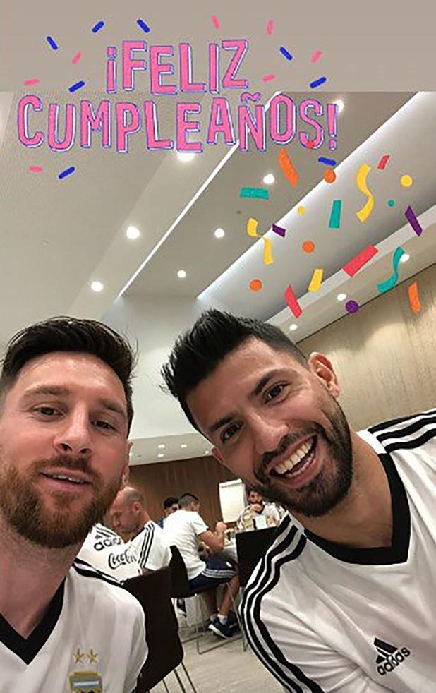 """La """"storie"""" que Leo Messi subió a su cuenta de Instagram"""