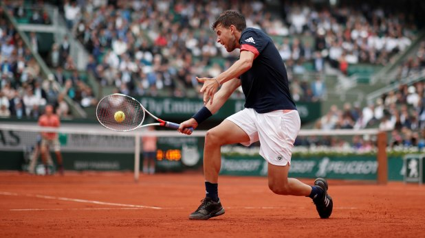 Dominic Thiem venció a Alexander Zverev en Roland Garros (Reuters)