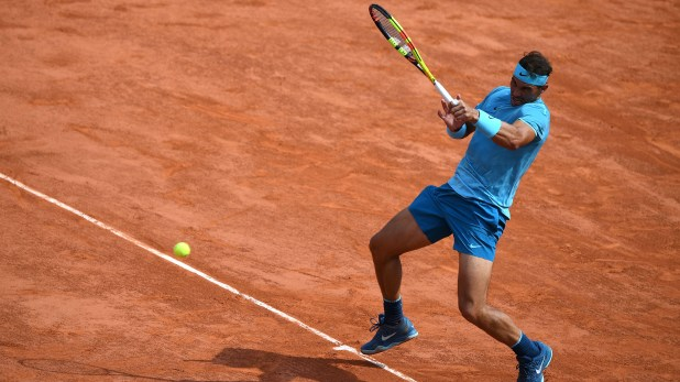 El español es prácticamente infalible en Roland Garros (AFP PHOTO / Eric FEFERBERG)