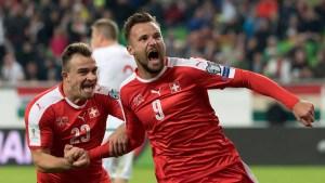 Suiza quiere dar el golpe ante Brasil