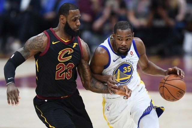 Kevin Durant fue el MVP de las Finales de la NBA (Reuters)