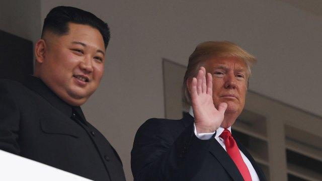 El dictador de Corea del Norte y el presidente de los Estados Unidos. (AFP)