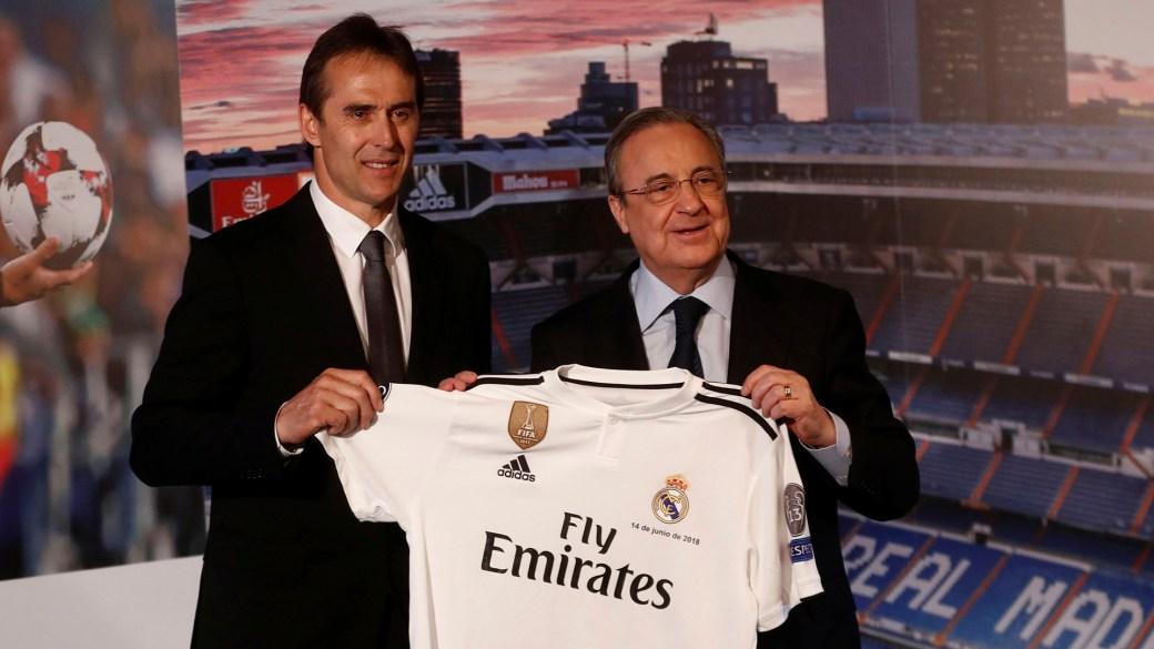 Florentino Pérez le ha puesto la Champions League como prioridad a Lopetegui (Reuters)