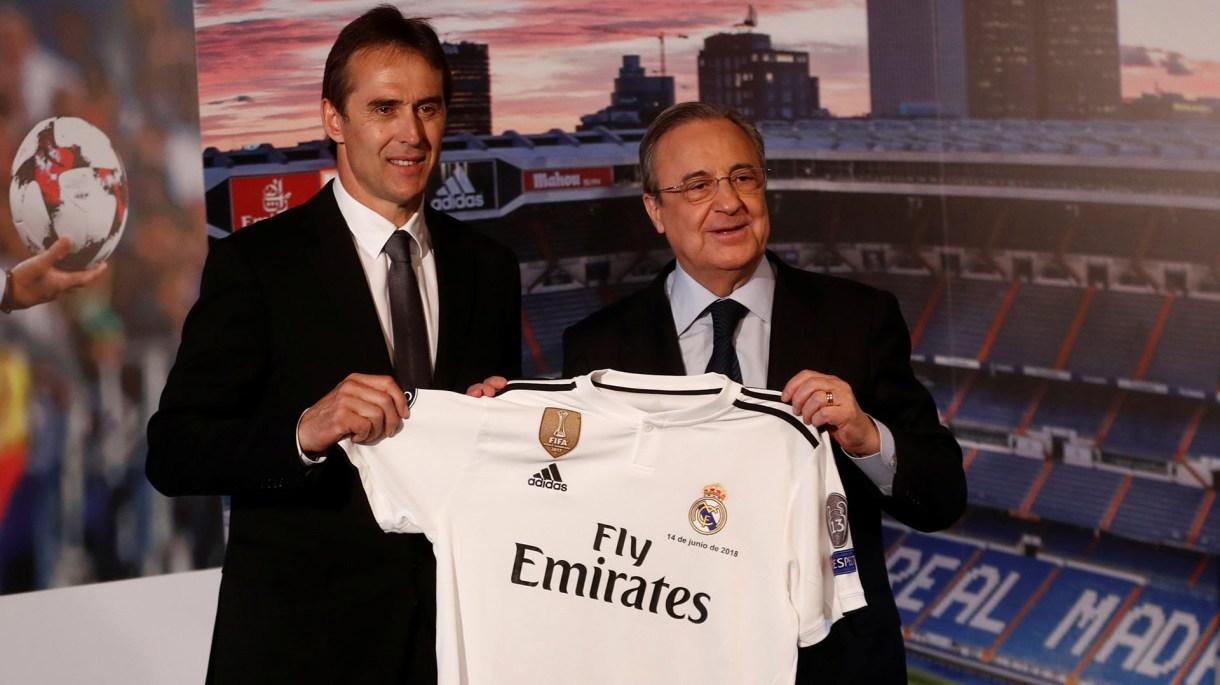 Los malos resultados sentenciaron a Julen Lopetegui en el Real Madrid (REUTERS/Juan Medina)