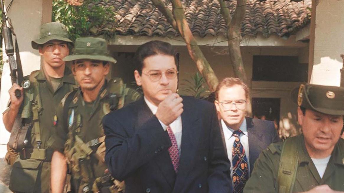Helmer 'Pacho' Herrera, el tercero del Cartel de Cali, se entregó en 1996 ante la Policía.