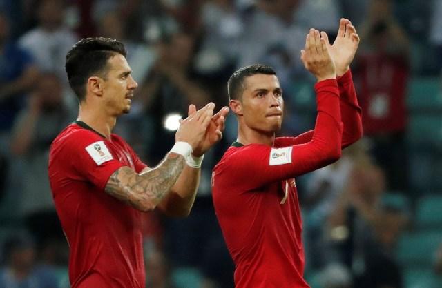CR7 fue el héroe del elenco luso en el empate agónico ante España (Foto: REUTERS)