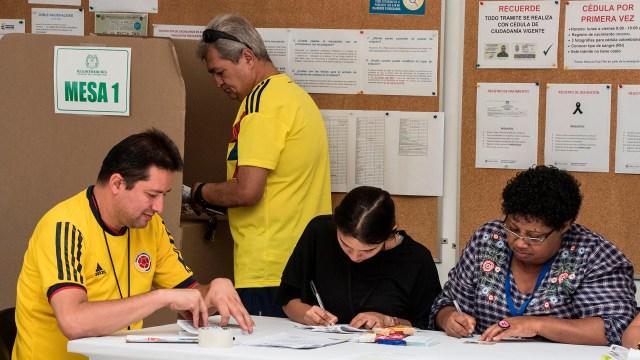Desde las ocho de la mañana de este domingo 26 de agosto, hasta las cuatro de la tarde, 36.227.267colombianos habilitados para votar podrán asistir a las urnas. AFP