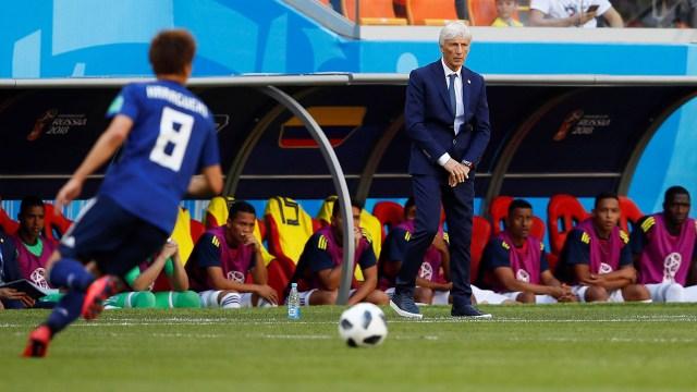 Jose Pekerman, técnico de Colombia, (REUTERS/Jason Cairnduff)
