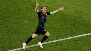 Modric era pretendido por el Inter (Reuters)