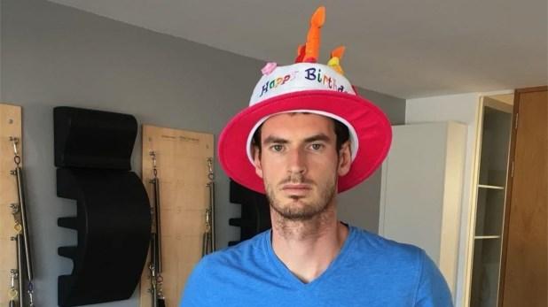 Andy Murray. (Foto Instagram)