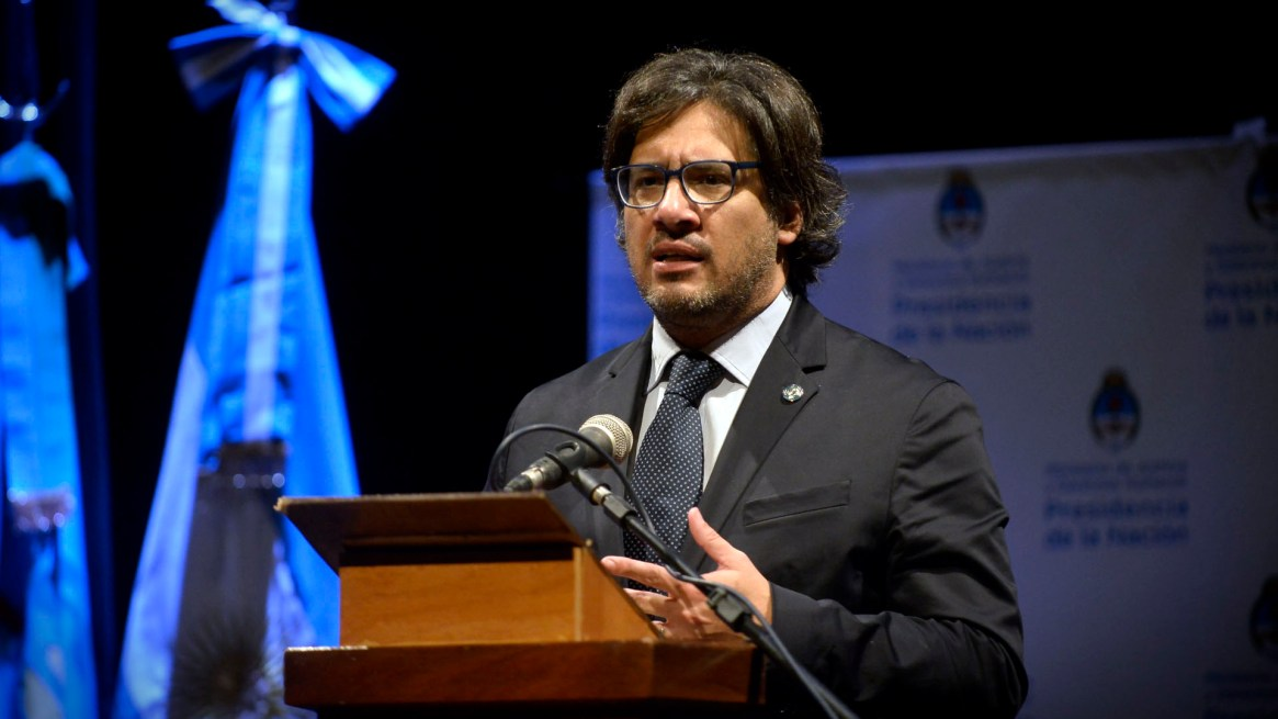 El ministro de Justicia, Germán Garavano (Gustavo Gavotti)