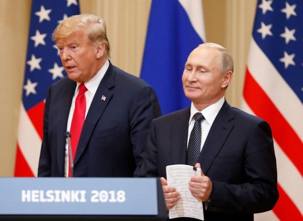 Donald Trump y Vladimir Putin (Reuters)