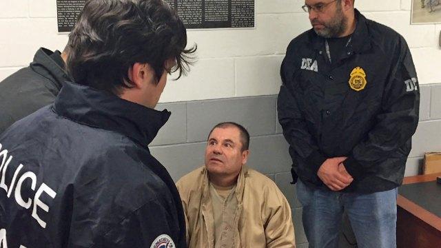 """Joaquín """"El Chapo"""" Guzmán está preso en Nueva York"""