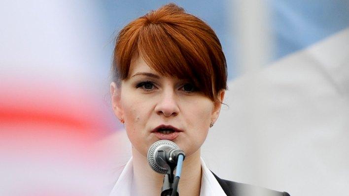 María Butina fue condenada a 18 meses de prisión (AP)