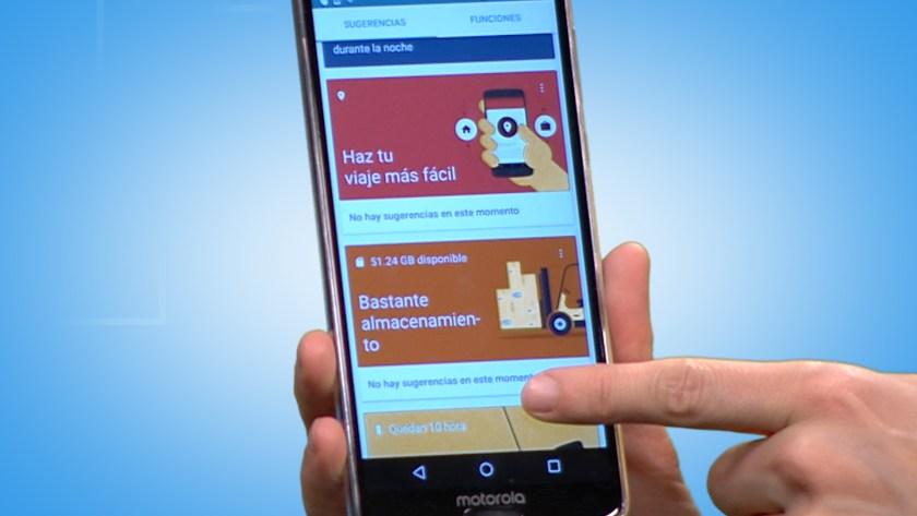 Tienen Android puro con una pequeña capa de personalización de Motorola