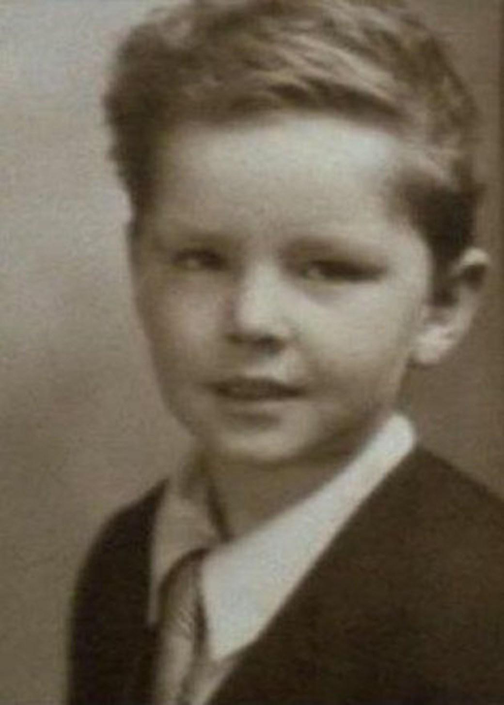 Jack Nicholson de niño