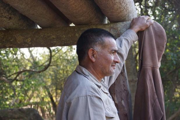Jorge Luna, poblador de La Armonía (Raquel Peiro)