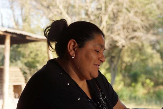 Zulma Argañaraz, una de las integrantes de las comunidades que aspiran a progresar junto con el Parque (Raquel Peiro)
