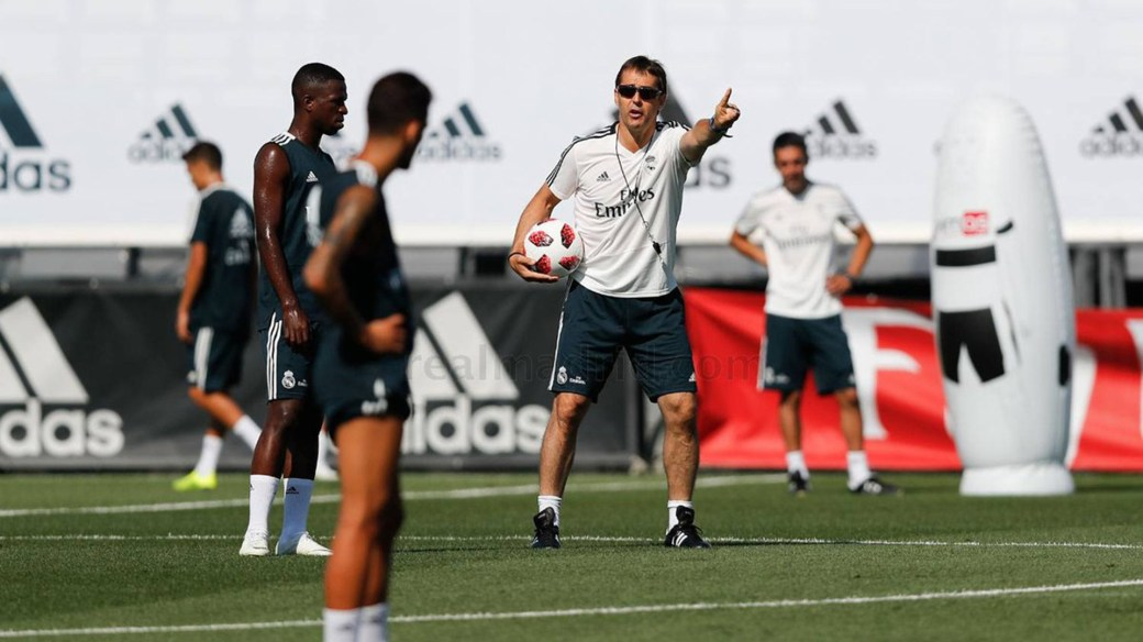 Julen Lopetegui está obligado a ganar la Champions League por pedido de Florentino Pérez (realmadrid.com)