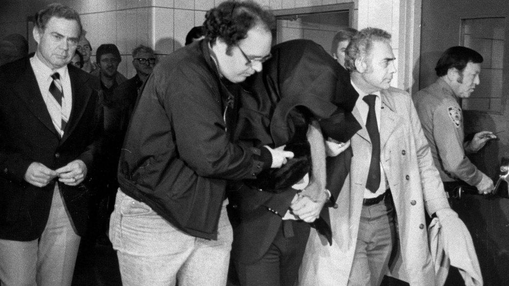 La detención de Mark David Chapman (Getty Images)
