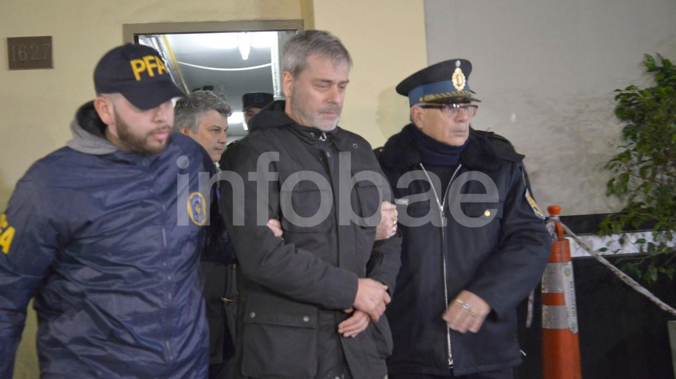 11.-Claudio Javier Glazman, director de Sociedad Latinoamericana de Inversiones. Fue detenido en su domicilio de Olivos