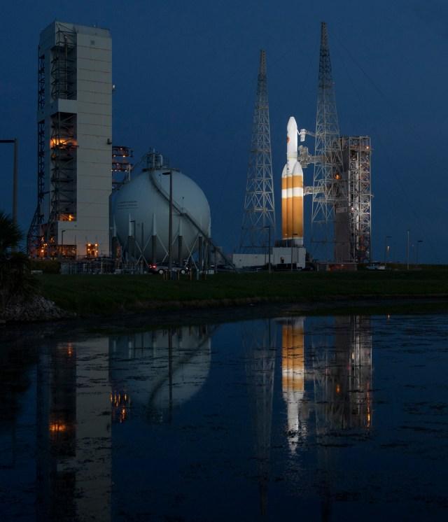Desde Cabo cañaveral despegará el cohete con con la sonda. (Bill Ingalls/NASA via AP)