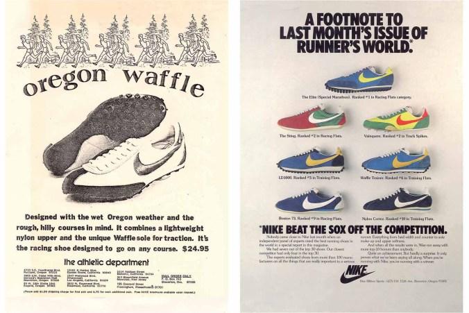 Vieja publicidad de Nike