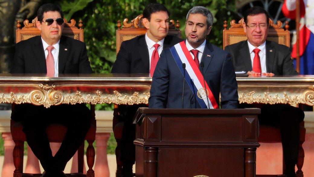 Mario Abdo Benítez prometió combatir la impunidad (Reuters)
