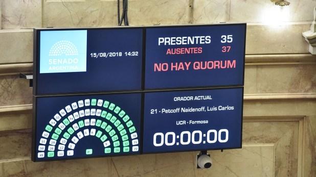 En Argentina, la inmunidad surge de la ley 25.320
