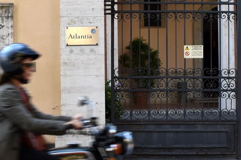 Oficinas de Atlantia en Roma (AFP)