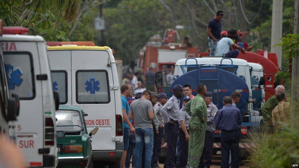 FOTOGALERÍA: Imágenes del Accidente aéreo en Cuba (18/Mayo/2018)
