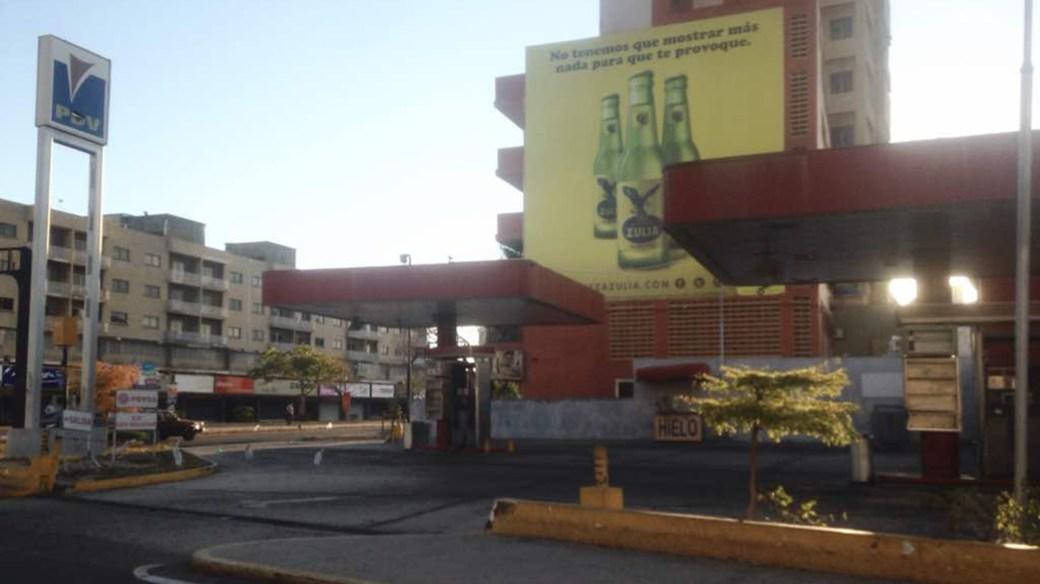 En Maracaibo también hay poco movimiento (@AngelMachadoVE)