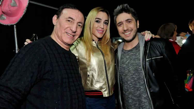 Norberto Marcos, Fátima Florez y Jey Mammon (Fotos: Teleshow)